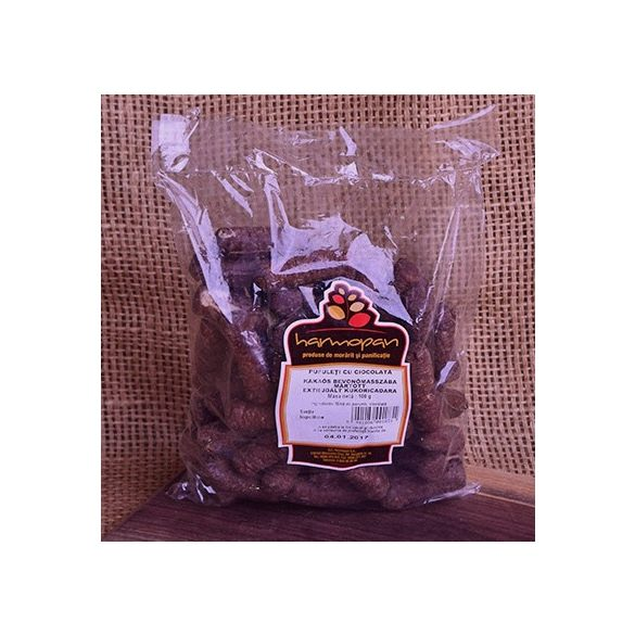 Pufuleti cu ciocolata Harmopan 100G