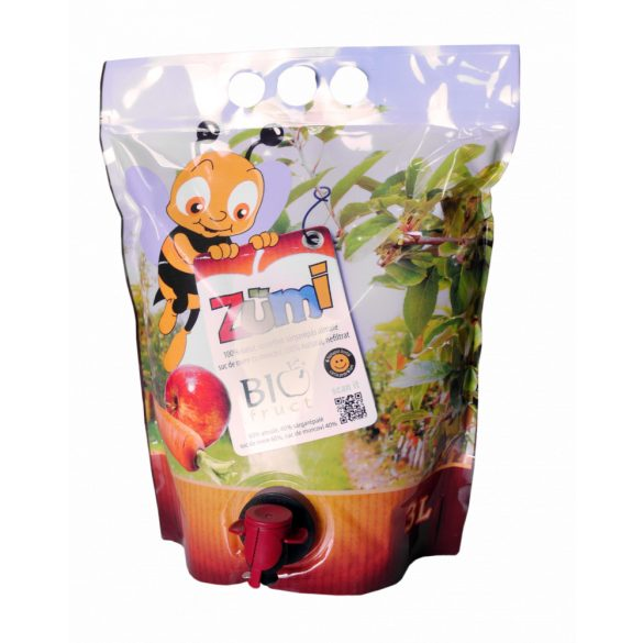 Suc Zumi cu mere și morcovi Biofruct 3L
