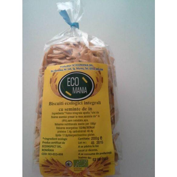Biscuiti Eco cu Seminte de In 200G