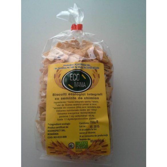 Biscuiti Eco cu Seminte de Chia si Chimen 200G