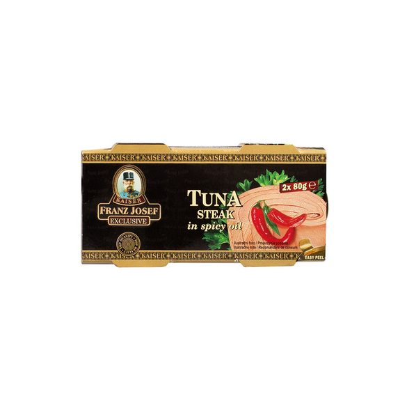 Ton Steak Ulei Picant Duopack Kfj 2*80G